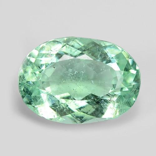 1.55 Cts Untreated Copper Bearing Blue Green Natural Paraiba Tourmaline