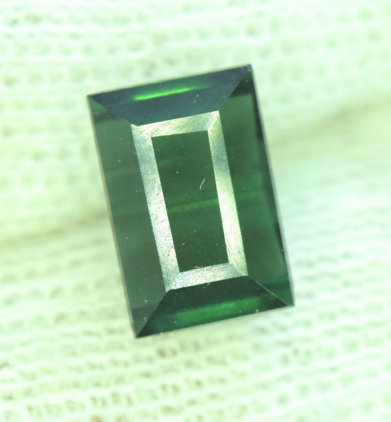 2.60 Carats Green Color Tourmaline Gemstone From AFG
