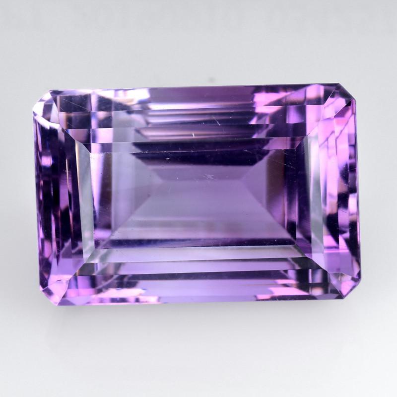 30.45 Ct  Natural Amethyst Top Quality Gemstone. AT 01