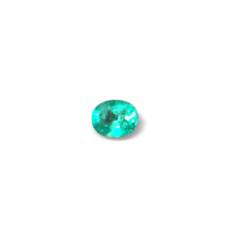 0,73ct  Colombian Natural Emerald Ref 42/43 Colombian Natural Emerald Colom