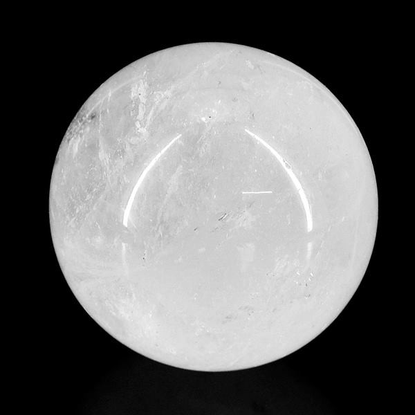 Genuine 665.00 Cts White Quartz Healing Sphere