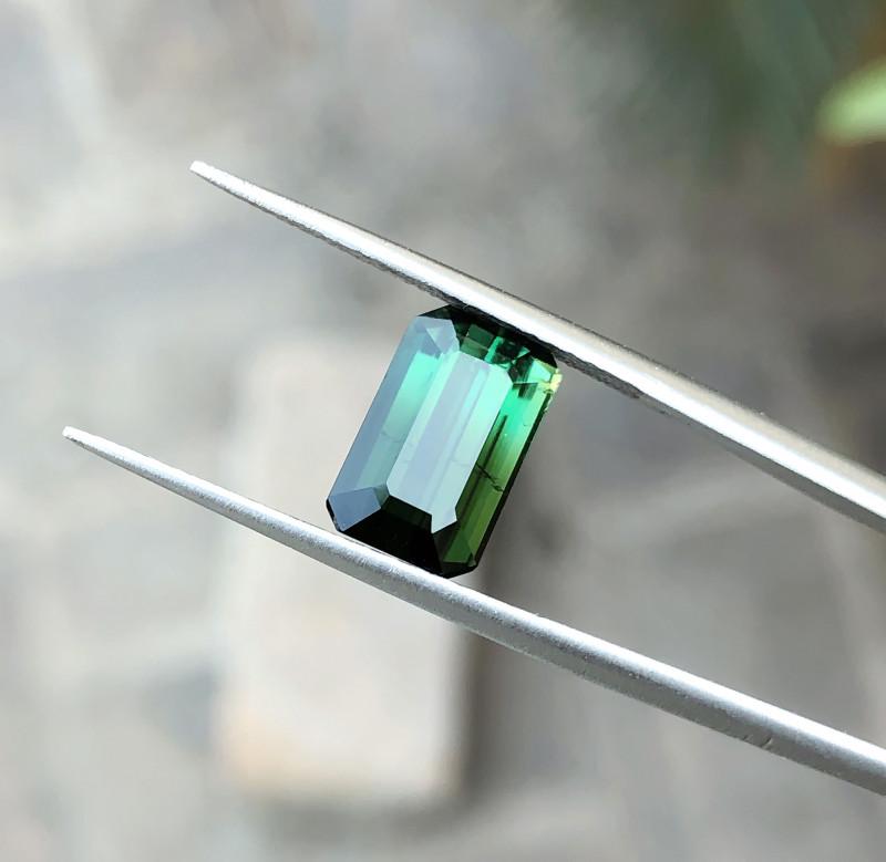 3.05 Ct Natural Greenish Transparent Tourmaline Gemstone