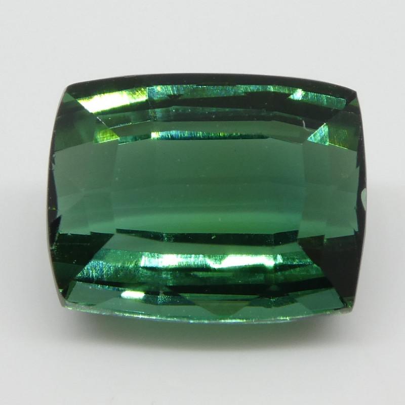 2.43ct Green Tourmaline Cushion