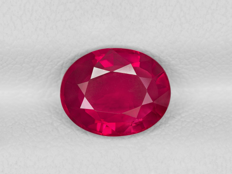 Ruby, 2.10ct - Mined in Mozambique | Certified by GIA