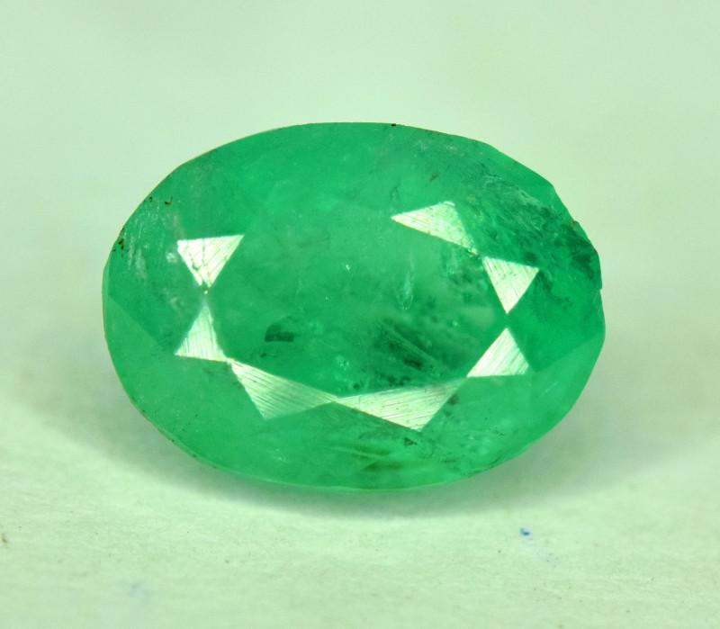 1.25 Carats Panjshir Emerald Gemstone
