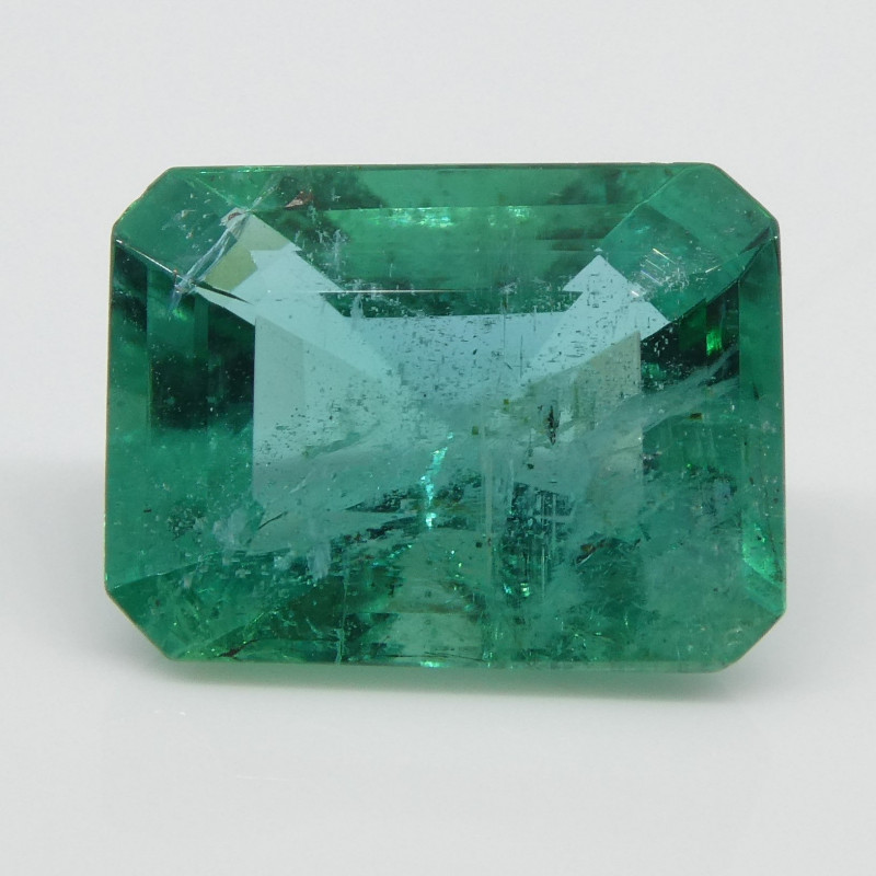 2.61ct Emerald Cut Emerald