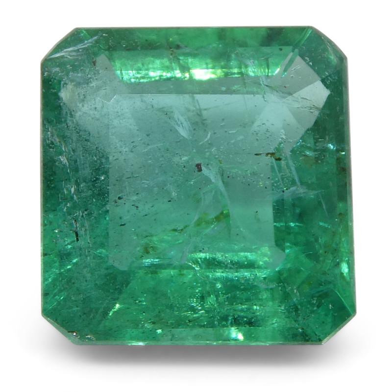 3.22ct Emerald Cut Emerald