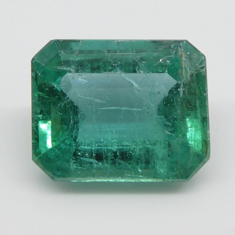 3.13ct Emerald Cut Emerald