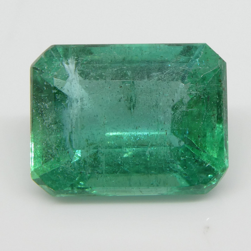 3.85ct Emerald Cut Emerald