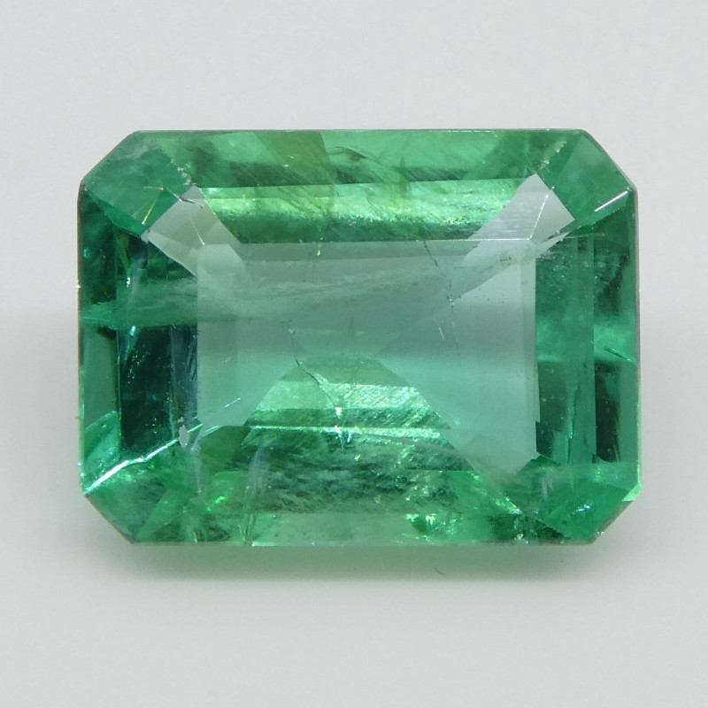 1.34ct Emerald Cut Emerald