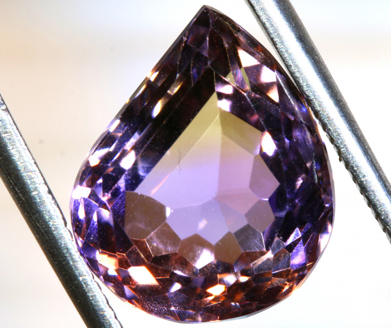 6.5 CTS  NATURAL AMETRINE FACETED GEMSTONE BG-380