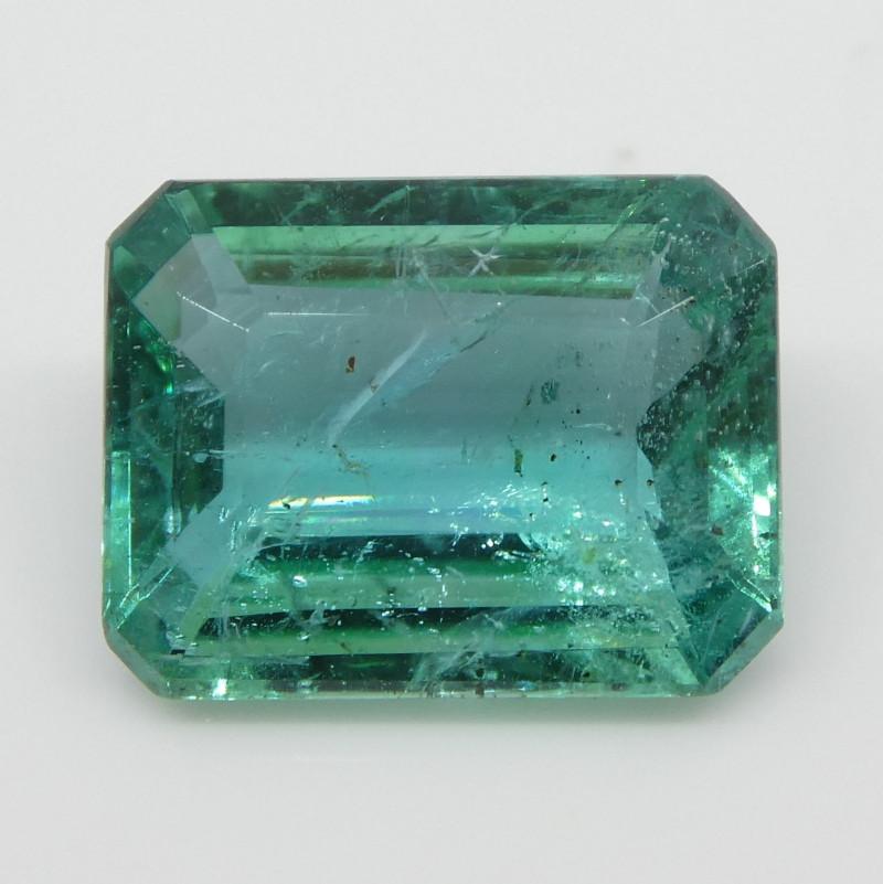 1.91ct Emerald Cut Emerald