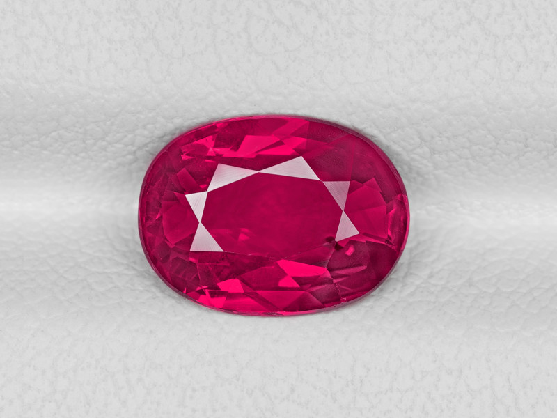 Ruby, 2.01ct - Mined in Mozambique | Certified by GIA