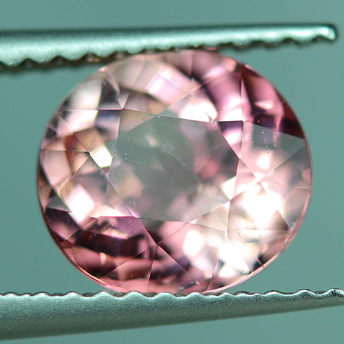 1.52 CT Padparadscha Color Copper Bearing Mozambique Tourmaline - PT447