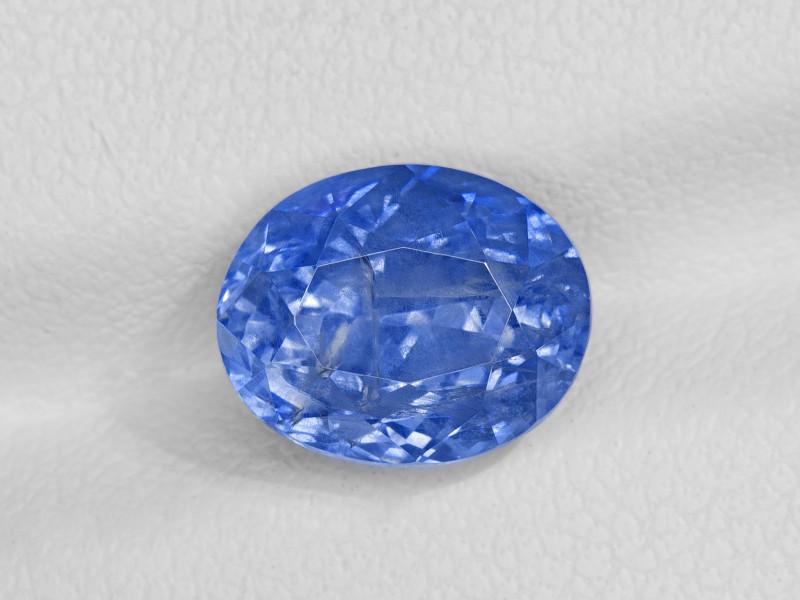 Blue Sapphire, 4.61ct - Mined in Sri Lanka | Certified by GRS