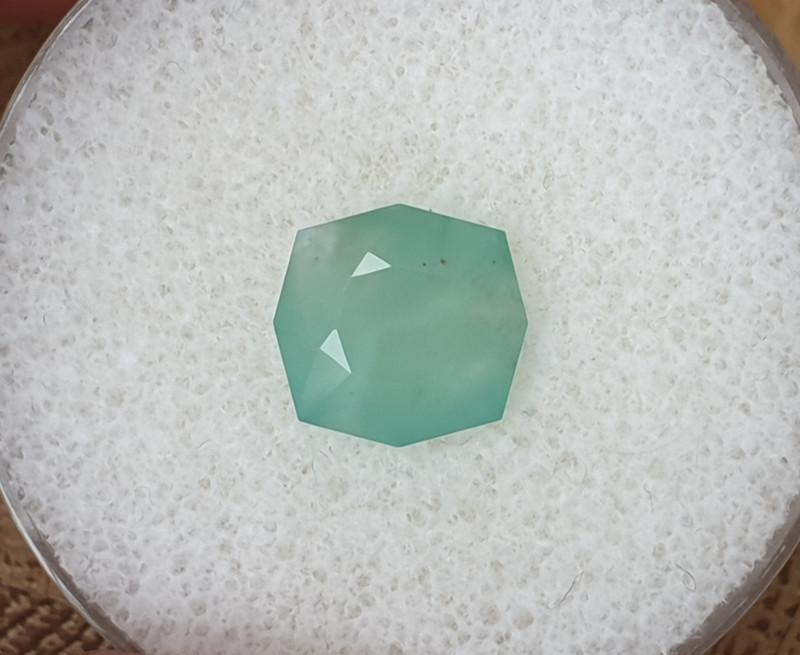 2,90ct Silica Chrysocolla - Rare stone!