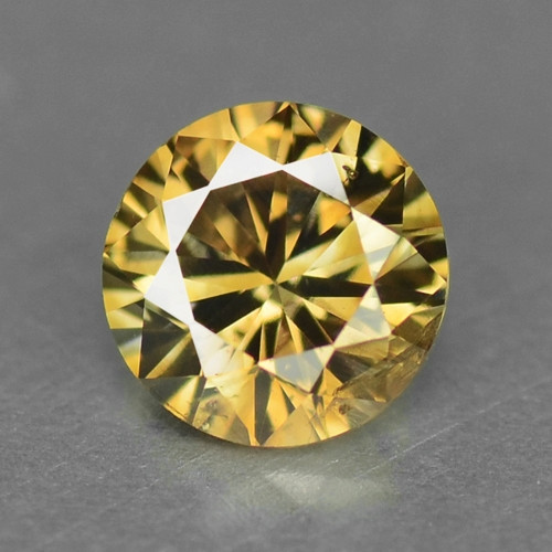 UNTREATED FANCY BROWNISH ORANGE NATURAL LOOSE DIAMOND