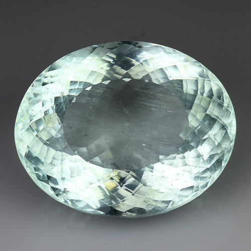 19.23 Ct AIG Certified Natural Aquamarine Sparkling Luster Gemstone. AQ 07