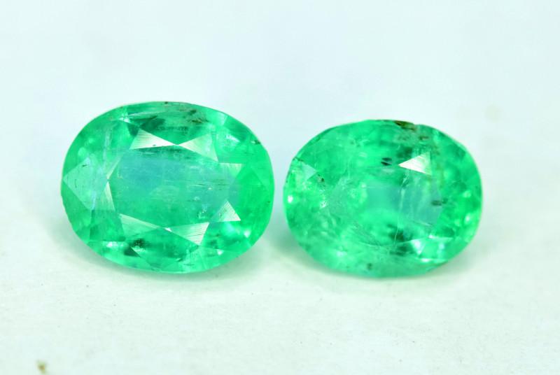 1.55 Carats Panjshir Emerald Gemstone