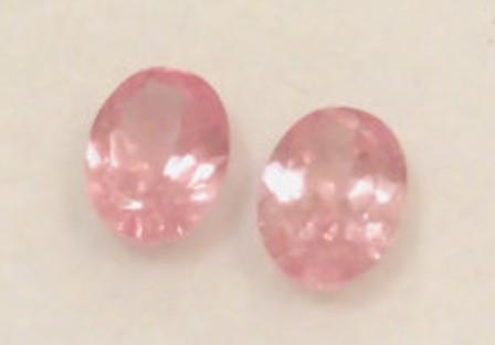 Luminous Pair of Mahenge Pink Spinels - Tanzania - Ref 2250