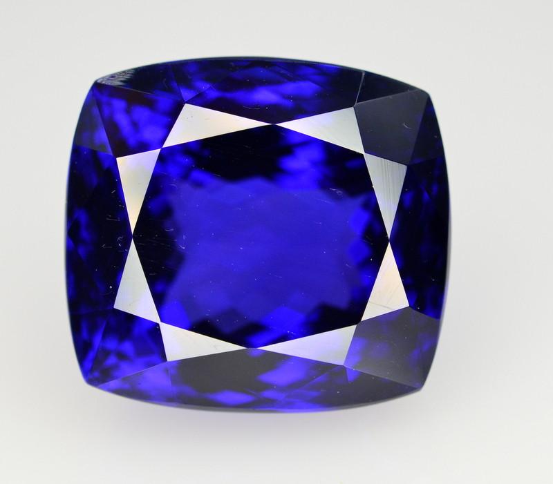 Top Quality ~ 30.90 Ct Natural D Block Color Tanzanite