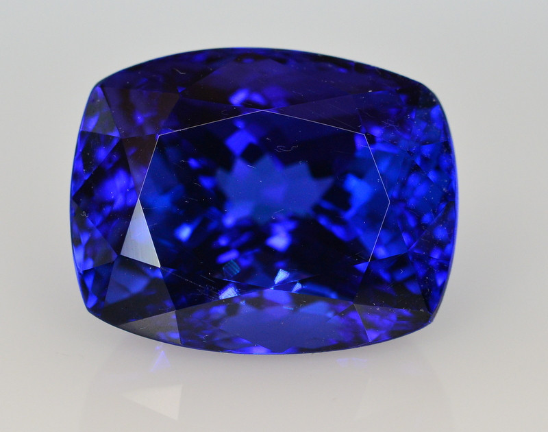 Top Quality ~ 23.30 Ct Natural D Block Color Tanzanite