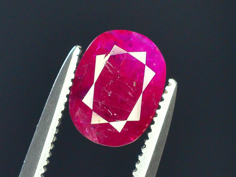 Top Clarity & Color 1.20 ct Rarest Pink Ruby~Kashmir