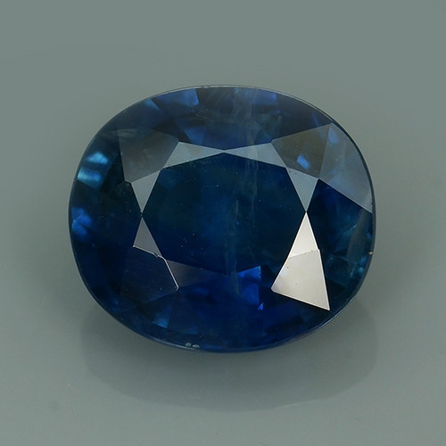 WOW CERTIFIED 5.49 CTS BLUE SAPPHIRE HEATED MADAGASCAR