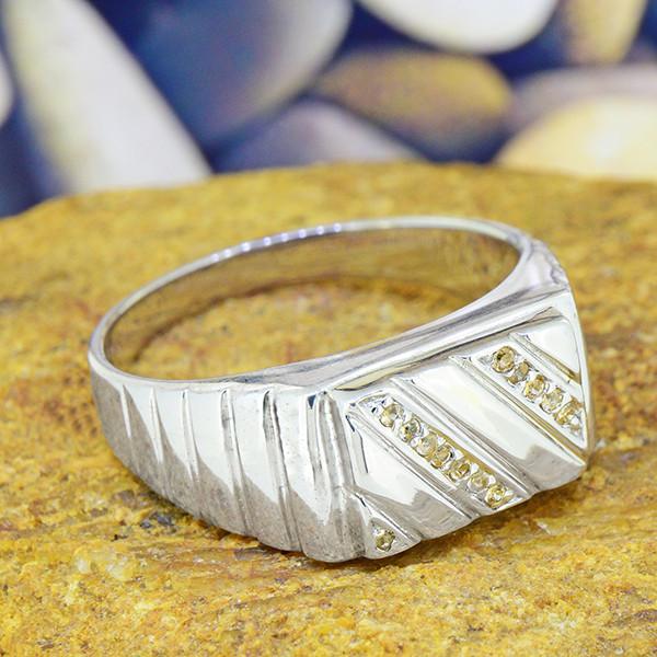 Natural Garnet  925 Sterling Silver Ring Size 10.5 (SSR0181)