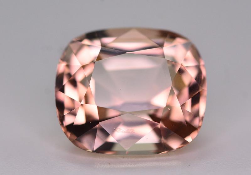 Amazing Color 6.10 Ct Natural Pinkish Brown Tourmaline