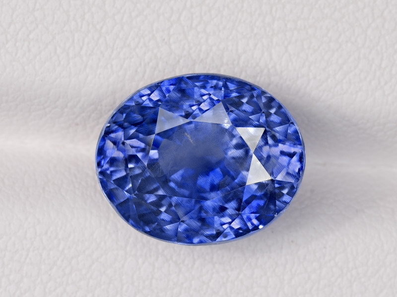 Blue Sapphire, 10.94ct - Mined in Kashmir | Certified by GIA
