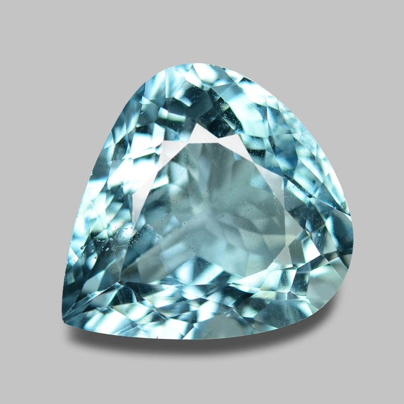 9.76 Cts Unheated  Sky Blue Color Natural Aquamarine Loose Gemstone