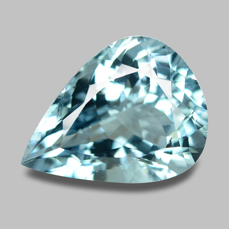 6.67 Cts Unheated  Sky Blue Color Natural Aquamarine Loose Gemstone