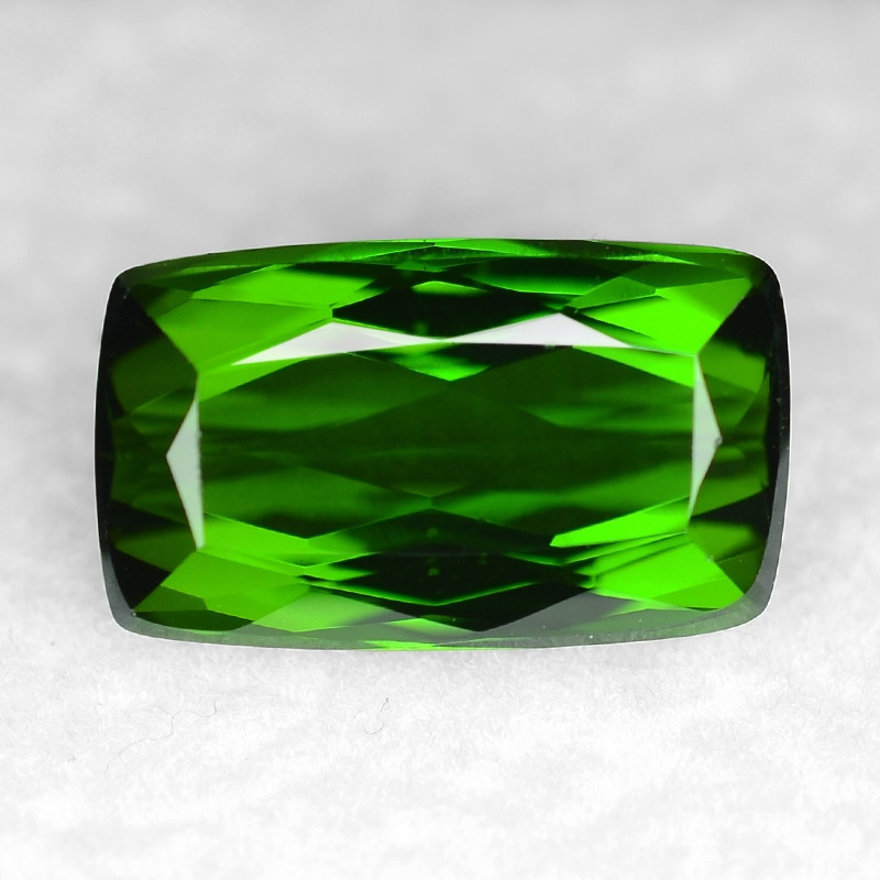 3.15 Cts Un Heated Green Color Natural Tourmaline Loose Gemstone