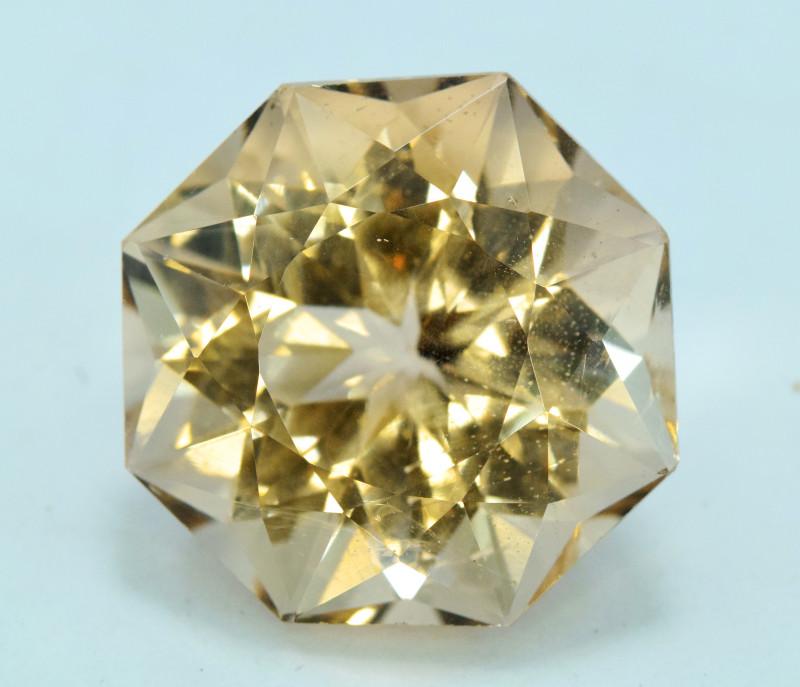 46.55 Carats Fancy Cut Morganite Gemstone