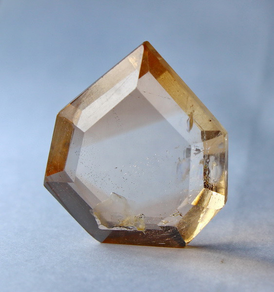 Unheated Faceted Topaz Gemstone - 38.60 ct