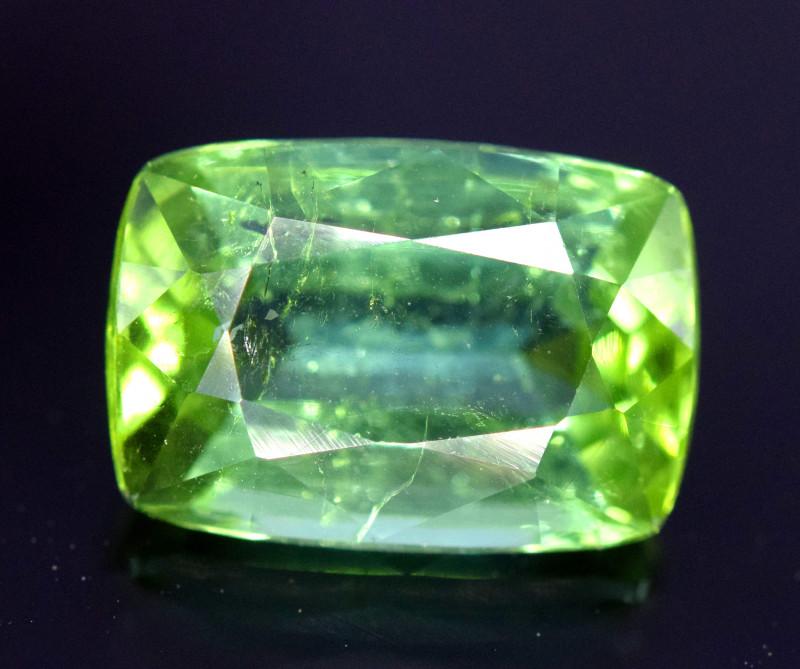 4.15 cts Natural Mint Green Tourmaline Gemstone