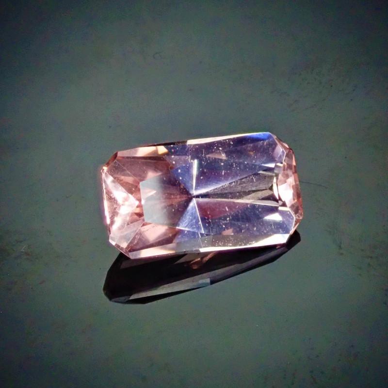 4.45ct Morganite Radiant Cut