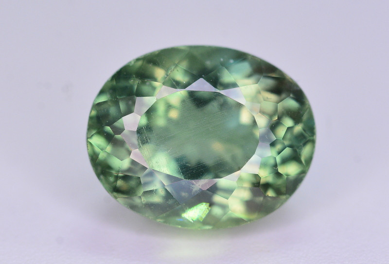 Top Color 3.15 Ct Natural Green Apatite. ARA