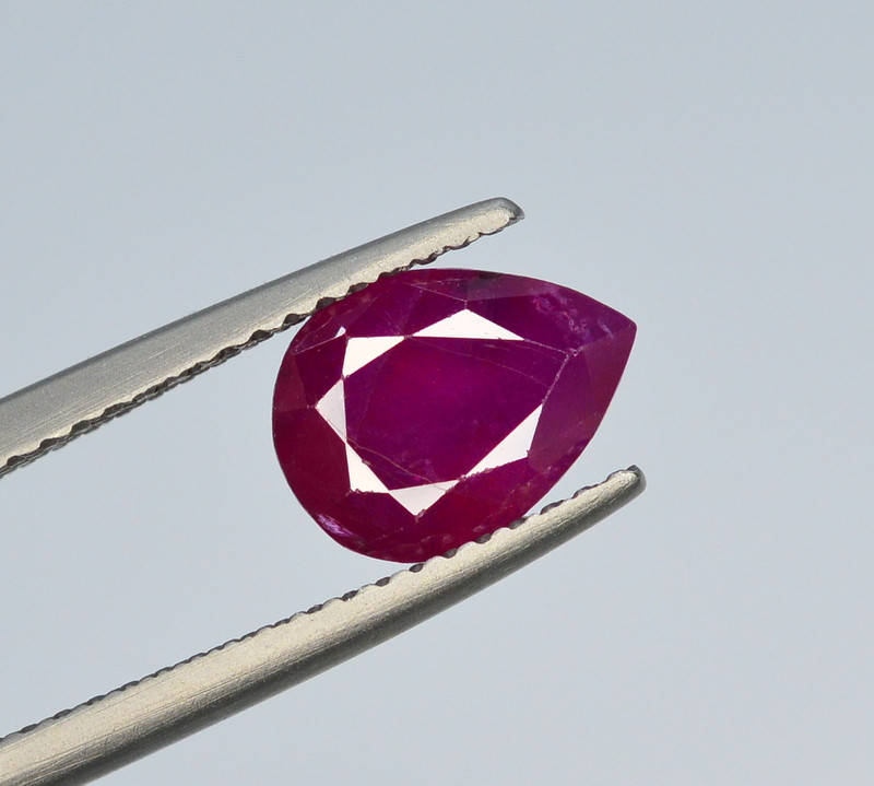 Brilliant Color 2.60 Ct Natural Ruby From Tajikistan