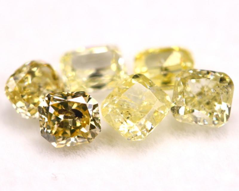 1.56Ct Natural Fancy Intense Yellow Diamond Lot BM256