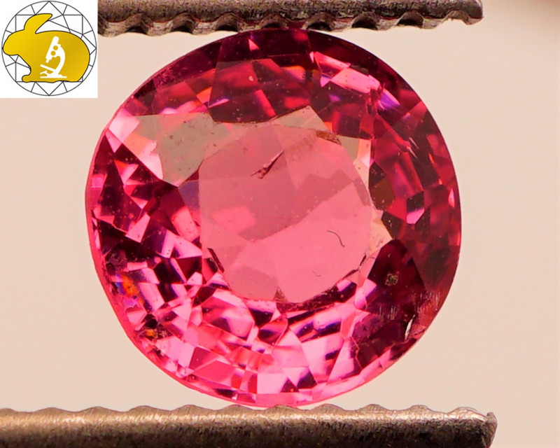 RICH COLOR! Cert. Unheated 1.22 CT Intense Purple Mahenge Spinel FREE Shipp
