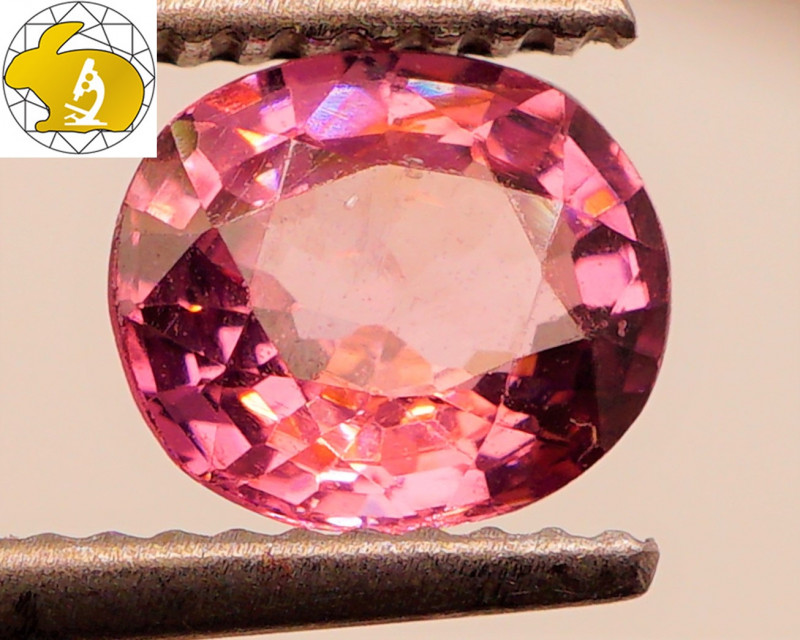 Cert. Unheated 1.22 CT Silvery-Purple Mahenge Spinel FREE Shipping!