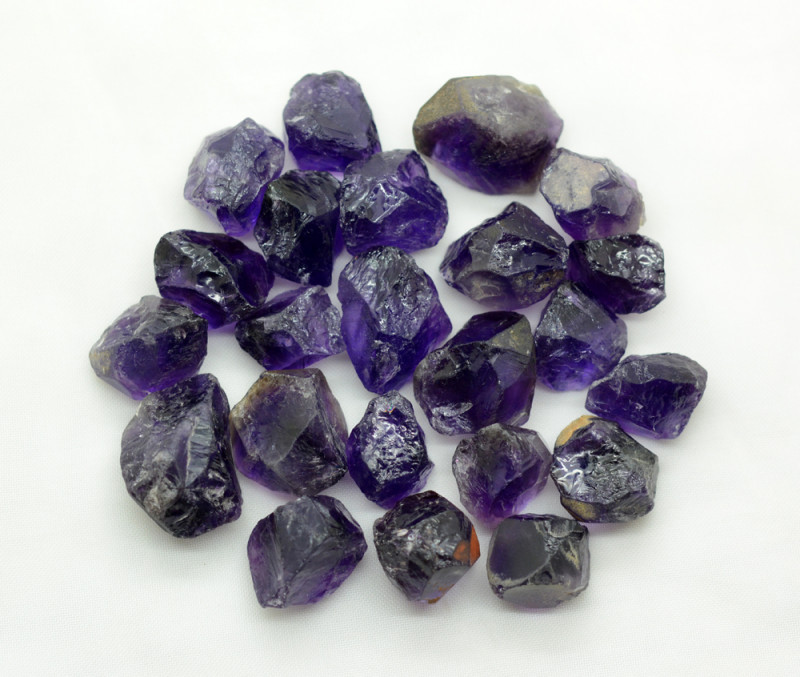 400 CT Rough Amethyst From Africa