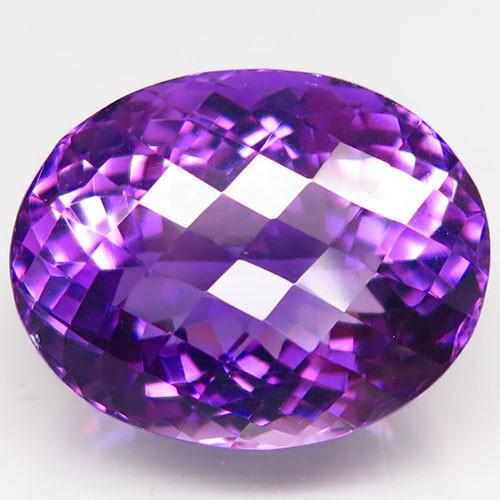 Unheated 25.77  ct. Natural Top Nice Purple Amethyst Brazil