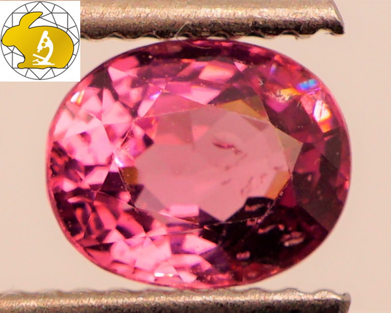 Cert. Unheated 1.26 CT BRIGHT Purple Mahenge Spinel FREE Shipping!