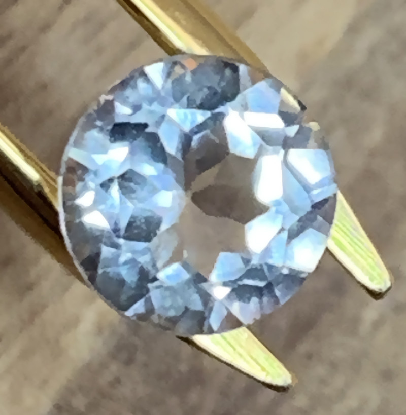 Brilliant Silver White Topaz - Sparkling  gem VVS