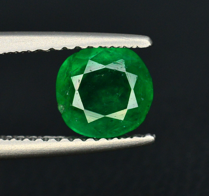 Top Color 1 Ct Natural Emerald From Swat