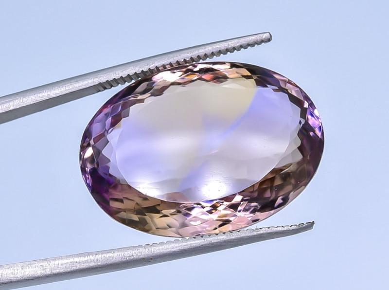 21.06 Crt Ametrine Faceted Gemstone (R47)