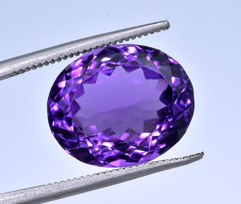 10.04 Crt Amethyst Faceted Gemstone (R47)